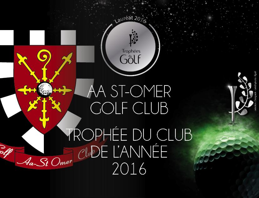Saint-Omer Golf Club, Club of the Year 2016