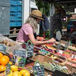 Market stall at Wizernes