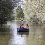 Audomarois marshes boating