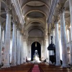 The cathedral nave, Boulogne-sur-Mer