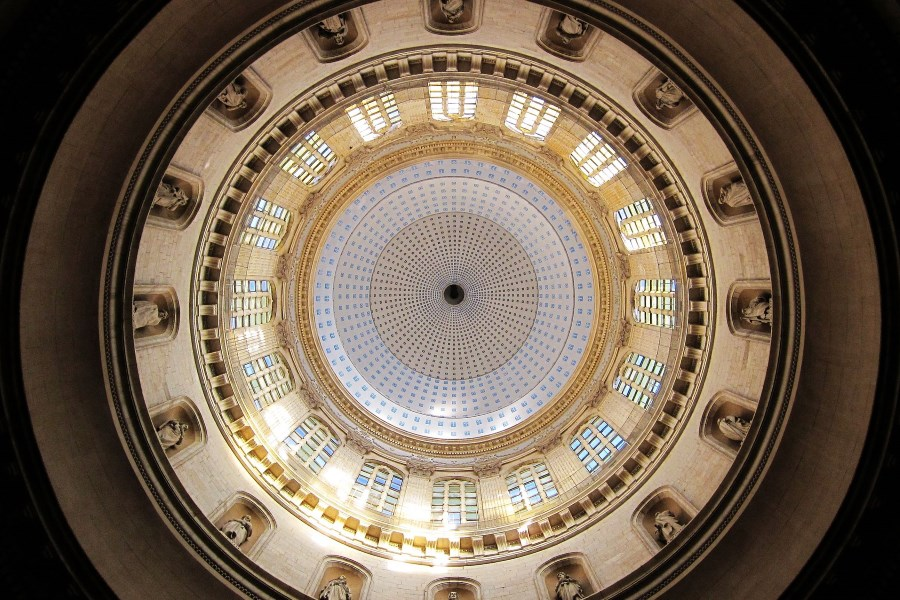 Cathedral dome, Boulogne-sur-Mer