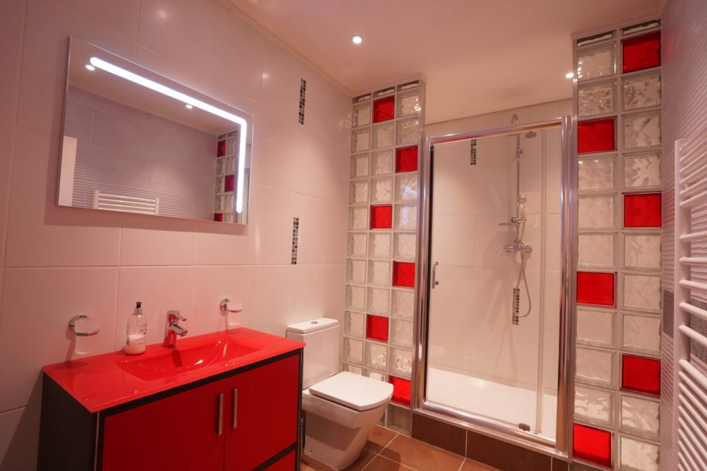 Bathroom 1 At The Big Chateau, Hallines, Northern France