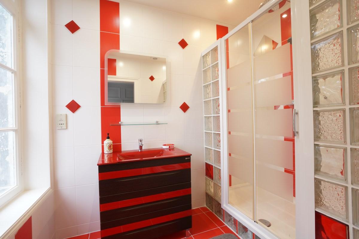 Bathroom 3 at the Big Chateau, Hallines, Northern France