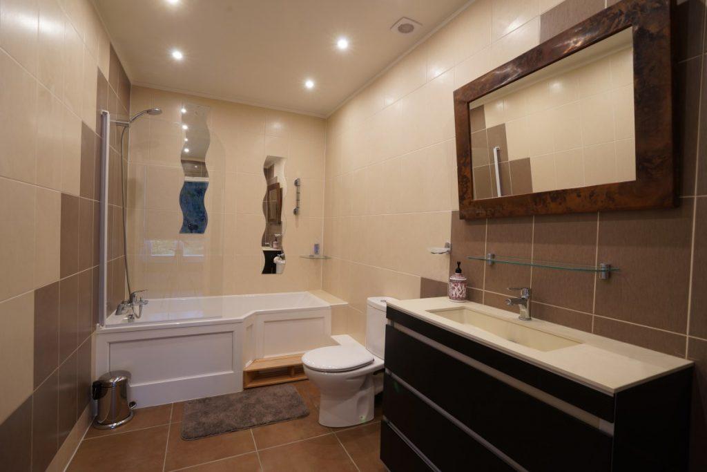 Bathroom 5 At The Big Chateau, Hallines, Northern France
