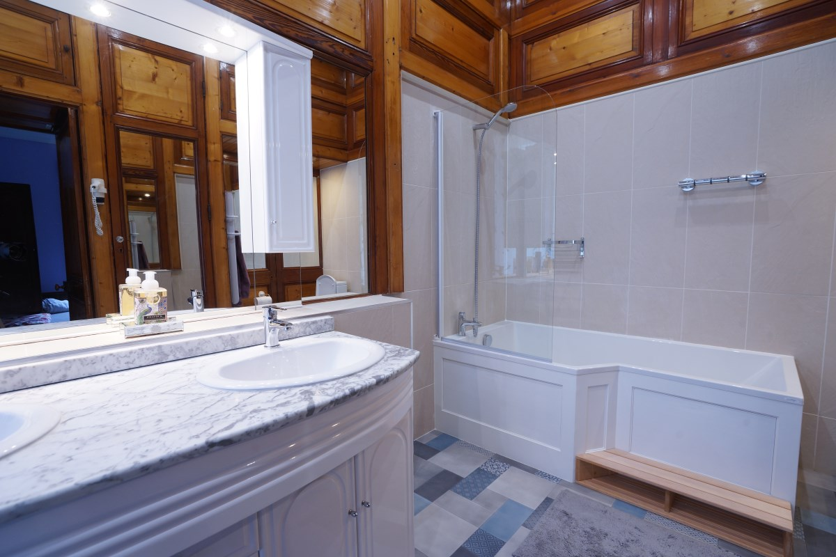 Bathroom 7 at the Big Chateau, Hallines, Northern France