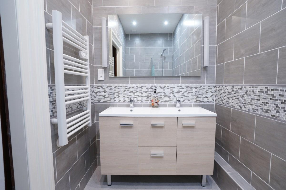 Bathroom 9 at the Big Chateau, Hallines, Northern France