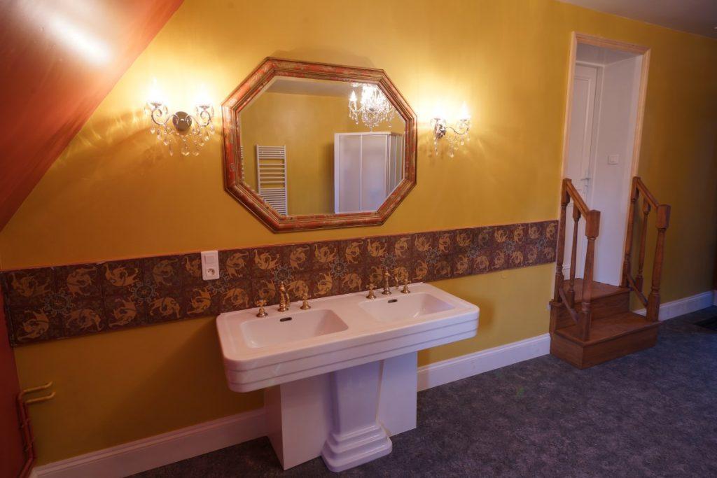 Bathroom 11 At The Big Chateau, Hallines, Northern France