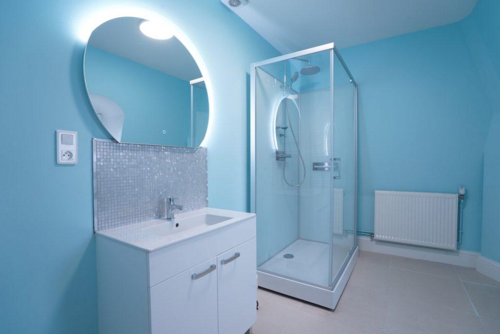 Bathroom 12 At The Big Chateau, Hallines, Northern France