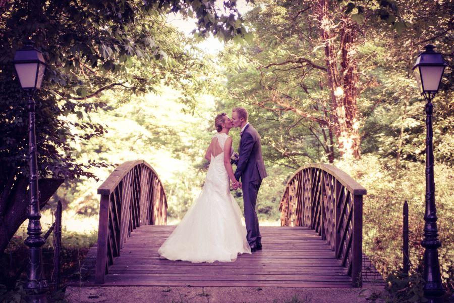 Couple at wedding venue Big Chateau, Hallines, Pas-de-Calais, Northern France